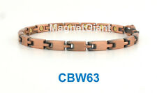 The most skinny Women Copper link high power magnetic bracelet CBW63