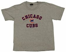Chicago Cubs Logo Youth Grey T-shirt
