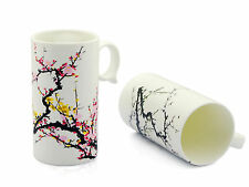 Magical Cup Hot Cold Heat Sensitive Plum Blossom Tea Mug Color Changing Ceramic