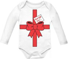 Best Gift Ever Baby Long Sleeve Onesie Baby Shower Present Idea First Christmas
