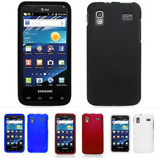 Rubberized Hard Snap On Cover Case for Samsung Captivate Glide i927 w/Screen