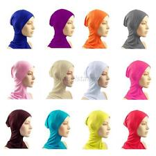 Under Scarf Hat Cap Bone Bonnet Hijab Islamic Head Wear Neck Chest Cover NEW G68