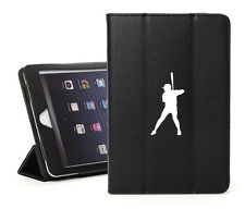 For Apple iPad 2 3 4 Air Mini Leather Smart Case Cover Stand Baseball Player