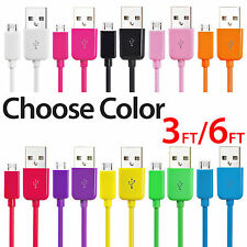 Micro USB Charger Charging Sync Data Cable For Samsung Galaxy S3 S4 S6 EDGE lot