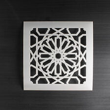 Moroccan Tile Stencil Template #5: Scrapbooking, Card Making, Airbrushing