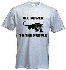 BLACK PANTHER PARTY T-SHIRT - Malcolm X Hip Hop Civil Rights - Choice Of Colour
