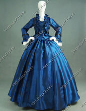 Civil War Ball Gown Satin Period Dress Reenactment Theatre Quality Clothing 170