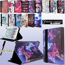 FOLIO LEATHER STAND CASE COVER FIT HUAWEI MEDIAPAD 7, M1 8.0 & 10 inch tablets