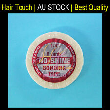 """No Shine Hair Extension Bonding Tape Roll for Tape Extensions 1/4"""" x 6yards"""