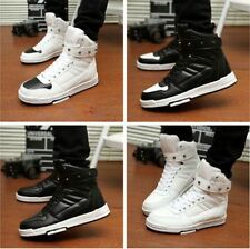 Stylish Unisex Korean Style High-top Board Shoes Casual Lovers Sneakers EQ490