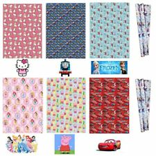 Birthday Wrapping Paper Gift Wrap Peppa Mickey Minnie Frozen Disney Childrens 2M