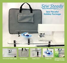 BERNINA Sew Steady Pieceful Extension Table Package Custom Built to fit BERNINA