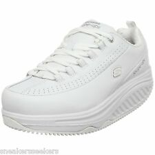 Skechers for Work Women's Shape Ups SR Sneakers, White, 76428 WHT