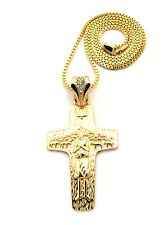 Roman Catholic Pope Francis Cross Pendant Various Chain Hip Hop Necklace FXSP416