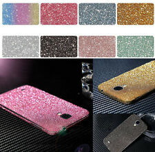 Sale Full Body Matte Glitter Bling Skin Sticker Protector For phone Samsung