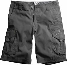 Fox Racing Mens Shorts Slambozo Cargo Short Solid Charcoal 04575
