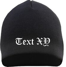 10 Piece Beanie With Your Desired Text Embroidered ++ Ultras MC Club Hat