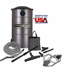 VacuMaid GV50PRO Professional Wall Mounted Utility Vacuum with 50 ft Hose and To