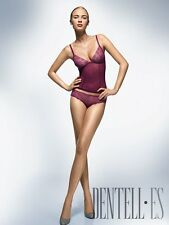 Wolford PASSION Mini STRING PANTY or CAMISOLE Cream or Wine RRP $370 Boxed