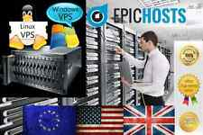 Windows VPS 4GB RAM 200GB HDD PC Virtual Private Server Dedicated VDS 2008 7 +