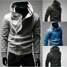New Men's Assassins Creed Inspired Hoodie Jacket Halloween Costume USA Seller 2