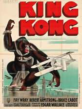 King Kong Vintage Movie Poster Rene Peron available as print, poster or canvas.