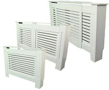 Painted Radiator Cover Radiator Cabinet White MDF -  Small, Large and Adjustable