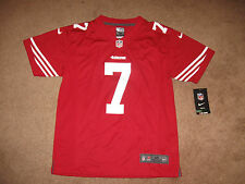 Nike Youth NFL San Francisco 49ers Colin Kaepernick 7 Football Game Jersey Home