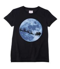 SANTA CLAUS WITH SLEIGH KIDS T-SHIRT - Father Christmas Gift Present Children's