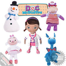 Doc Mcstuffins Soft Toys LARGE - Kids Tv Collectable Cuddly Toys For Her Chilly