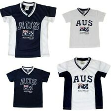 Kids Sports Soccer Football Rugby Jersey Top T Shirt Tee Australia Souvenir B