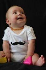 Velvet Moustache Onesie Romper Baby Shower Gift Infant Cute Hipster Mustache Fun
