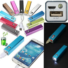 2600mAh USB LED External Backup Battery Charger Power Bank For Mobile Cell Phone