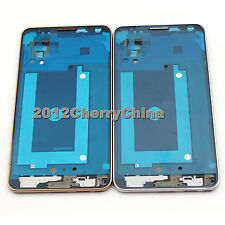 Housing Frame Front Bezel replace For Samsung Galaxy Note 3 LTE N9005 White/Gold