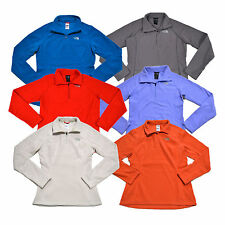 The North Face Fleece Pullover Sprint Womens 1/4 Zip Long Sleeve New