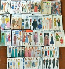 Butterick OOP Dresses Suits Ponchos Pants Skirts Tops Bridal Sizes 6-18 22W-26W