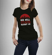 World of Warcraft tshirt who will stand against us warlords of draenor