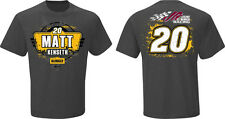 2015 MATT KENSETH #20 DEWALT TOOLS FAN UP NASCAR TEE SHIRT - MEDIUM