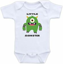 Little Monster Cute Baby Onesie Funny Onsie Monsters Inc Awesome Shower Gift Fun