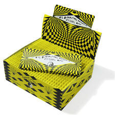 HIGHLAND YELLOW AND BLACK COSMIC KINGSIZE ROLLING PAPERS     30 PACKS
