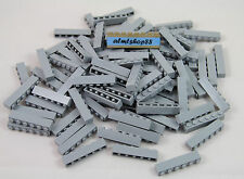 LEGO - 1x6 Bricks Light Bluish Gray (#3009) City Castle Blocks Lot Bulk Grey