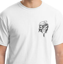 GROOVY HAIRSTYLE ANIMAL EMO WHITE T SHIRT ANIMAL GIFT BIRTHDAY