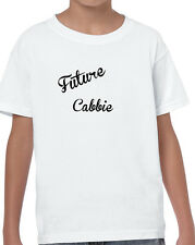 KIDS FUTURE CABBIE T SHIRT WHITE BIRTHDAY GROW UP