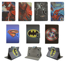 """Common Universal tablet 7"""" 8"""" 10"""" cover case batman cartoon PU leather for kids"""