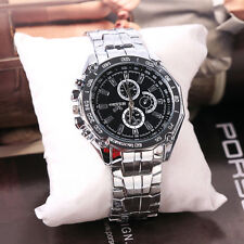 Hot Luxury Casual Men's Watch Sport Stainless Steel Quartz Analog Wrist Watches