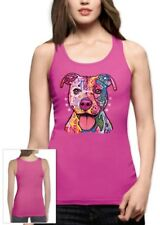 Rainbow Dog Women Tank Top Cool Colorful Trendy Holiday Birthday Gift Idea Sexy
