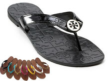 NEW Tory Burch Women's Designer Thora Embossed Flat Thong Sandals Shoes 5-11