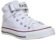 13531 Converse 126126 Unisex Loopback Velcro Strap White Leather Trainers