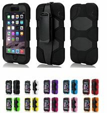 Apple Silicone/Gel/Rubber Heavy Duty Shock Proof Touch Screen Case iPhone 6/Plus