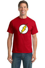 BIG BANG THEORY SHELDON COOPER THE FLASH SUPERHERO GEEK T-SHIRT